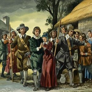 Puritans by Ron Embleton