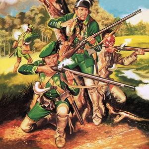 Rogers' Rangers by Ron Embleton