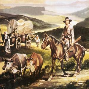 The Oregon Trail by Ron Embleton