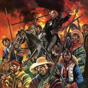 The Unfinished Revolution. Father Hidalgo and the Mexican Revolution by Ron Embleton