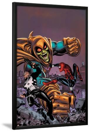 Spectacular Spider-Girl No.4: Punisher, Spider-Girl, and Hobgoblin Fighting and Smashing