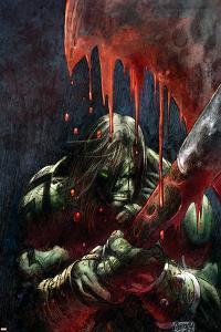 Skaar: Son Of Hulk Presents - Savage World Of Sakaar No.1 Cover: Skaar by Ron Garney