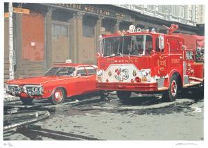 Fire Engine by Ron Kleemann