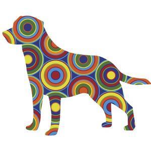 Labrador Abstract Circles by Ron Magnes