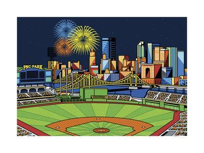 PNC Park Fireworks Pittsburgh