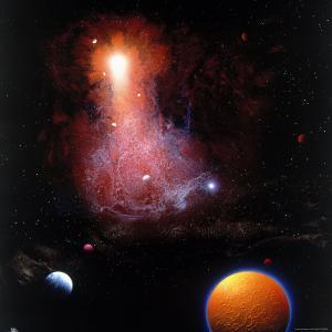 Space Illustration by Ron Russell