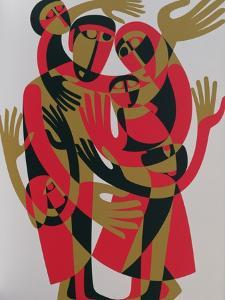 All Human Beings are Born Free and Equal in Dignity and Rights, 1998 by Ron Waddams