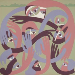 Comforters, 1983 by Ron Waddams