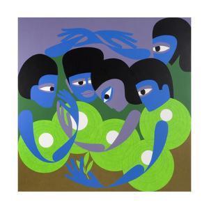 Gathering 1, 1980 by Ron Waddams