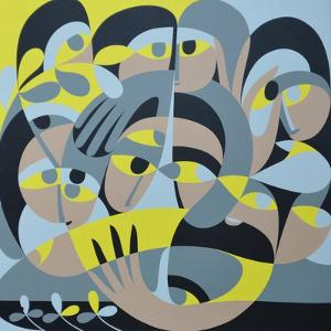 Presence III, 1987 by Ron Waddams