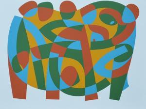 Wholeness in Brokenness, 1989 by Ron Waddams