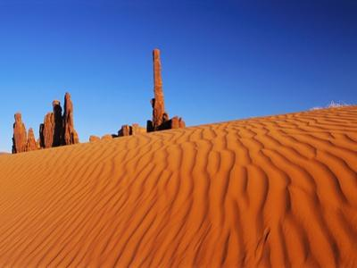 Hoodoos and Dune by Ron Watts