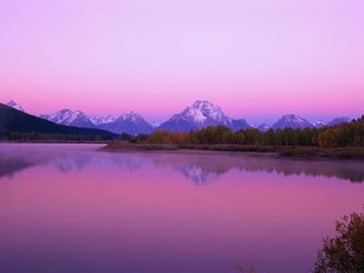 Mount Moran Rises Above Snake River
