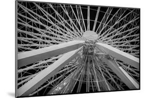 Chicago, Illinois. Ferris Wheel at Navy Pier on Lake Michigan by Rona Schwarz