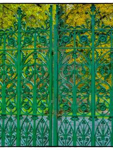 Entrance Gate to Crown Hill National Cemetery, Indianapolis, Indiana by Rona Schwarz