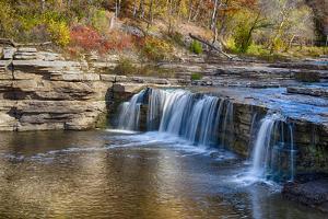 Indiana, Cataract Falls Recreation Area, Upper Cataract Waterfalls by Rona Schwarz
