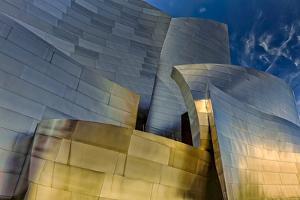 Los Angeles, California. the Disney Concert Hall Exterior by Rona Schwarz