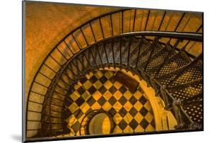 Spiral Staircase of St. Augustine Lighthouse, St. Augustine, Florida by Rona Schwarz