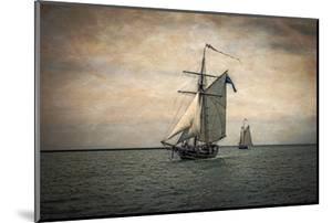Tall Ships Festival, Digitally Altered by Rona Schwarz