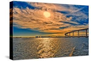 USA, Ca, San Diego Coronado Bay Bridge by Rona Schwarz