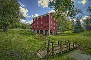 USA, Indiana, Cutler. Adams Mill by Rona Schwarz