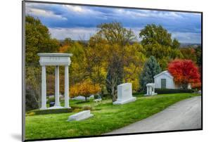 USA, Indianapolis, Indiana. Crown Hill Cemetery by Rona Schwarz