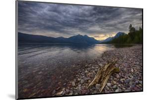 USA, Montana, Glacier National Park, Lake Macdonald by Rona Schwarz