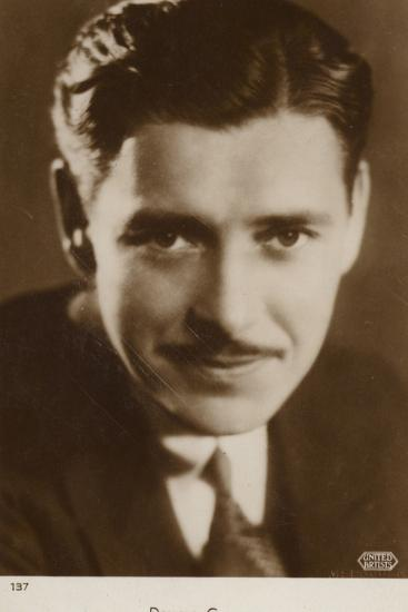 Ronald Colman, English Actor and Film Star--Photographic Print