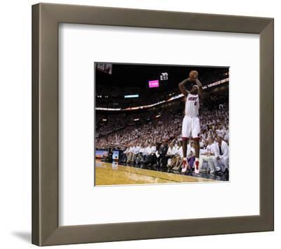 Dallas Mavericks v Miami Heat - Game One, Miami, FL - MAY 31: LeBron James