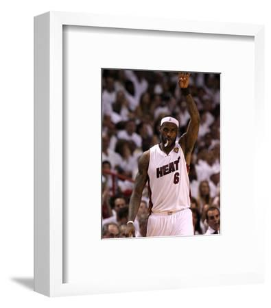 Dallas Mavericks v Miami Heat - Game Six, Miami, FL - June 12: LeBron James
