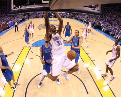 Dallas Mavericks v Oklahoma City Thunder - Game Four, Oklahoma City, OK - MAY 23: Kevin Durant