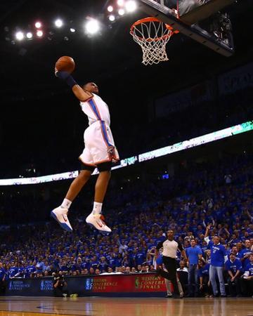 Dallas Mavericks v Oklahoma City Thunder - Game Four, Oklahoma City, OK - MAY 23: Russell Westbrook