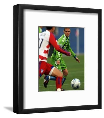 May 16, 2009, Seattle Sounders FC vs FC Dallas - Osvaldo Alonso