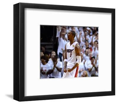 Miami, FL - June 21:  Miami Heat and Oklahoma City Thunder Game Five, Chris Bosh