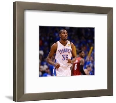Oklahoma City, OK - June 12: Kevin Durant and LeBron James
