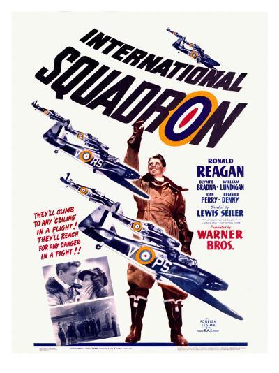 Ronald Reagan Squadron Movie Poster--Giclee Print