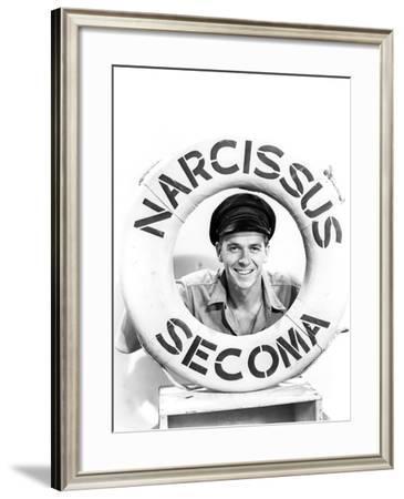Ronald Reagan, Tugboat Annie Sails Again, 1940--Framed Photographic Print