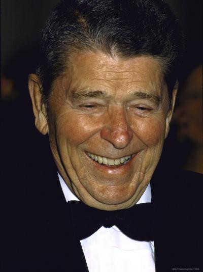 Ronald Reagan-Kevin Winter-Premium Photographic Print