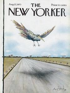 The New Yorker Cover - August 27, 1973 by Ronald Searle