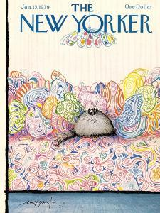 The New Yorker Cover - January 15, 1979 by Ronald Searle