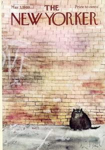 The New Yorker Cover - May 3, 1969 by Ronald Searle