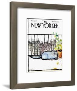 The New Yorker Cover - May 6, 1972 by Ronald Searle