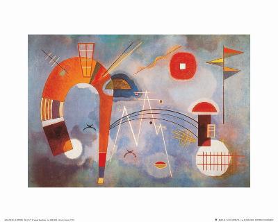 Rond et Pointu, c.1939-Wassily Kandinsky-Art Print