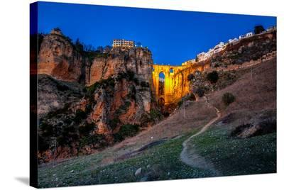 Ronda Bridge Andalusia Spain--Stretched Canvas Print