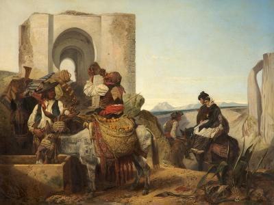 Ronda, Spanish Travellers, 1864-Richard Ansdell-Giclee Print