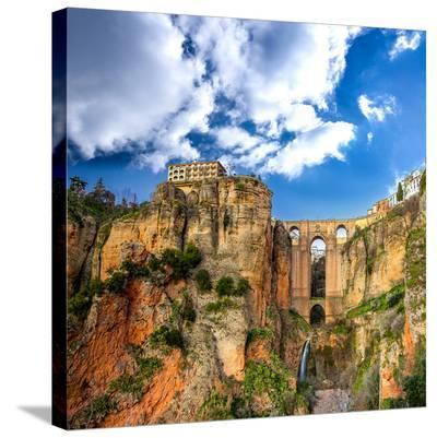 Ronda Village Andalusia Spain--Stretched Canvas Print