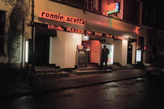 Ronnie Scott Club, 2003-Brian O'Connor-Photographic Print