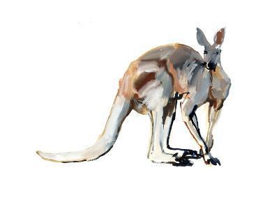 Roo, (Red Kangaroo), 2012-Mark Adlington-Giclee Print