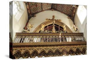 Rood Screen, Loft and Vault, Church of St Peter and St Paul, Eye, Suffolk
