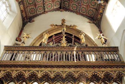 Rood Screen, Loft and Vault, Church of St Peter and St Paul, Eye, Suffolk--Photographic Print